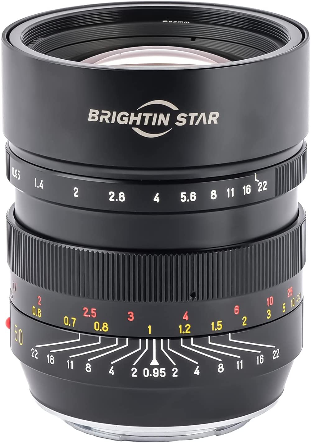 Brightin Star 50mm F0.95 Full Aperture Max 42% OFF Large Mirrorless Frame Ca Free shipping on posting reviews