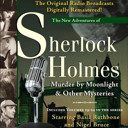 Murder by Moonlight and Other Mysteries audiobook cover art