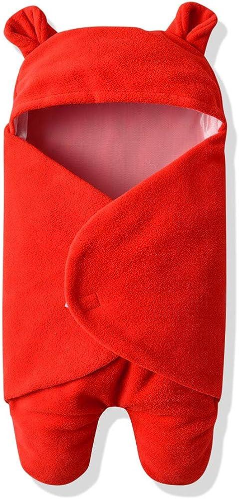 Rtnnsbbfcm Newborn Baby Blanket Classic Sleepers Polka Cute Phoenix Mall Girl Boy Ear