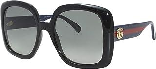 Gucci Lunettes de Soleil GG0713S Black/Grey Shaded 55/21/140 femme