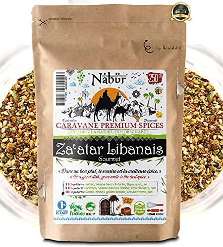 Nabür ⭐ Za'atar Libanés Del Chef ⭐ 250 Gr ⭐ GOURMET ⭐ Auténtico, Rico, Poderoso Bag Bolso reutilizable ⭐ LANZAMIENTO DE OFERTA