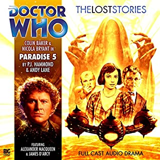 Doctor Who - The Lost Stories - Paradise 5 audiobook cover art