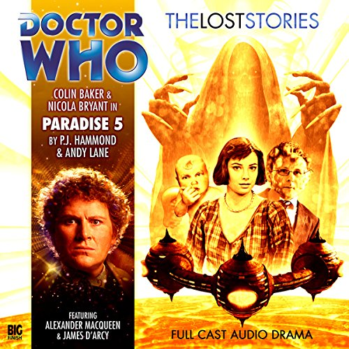 Doctor Who - The Lost Stories - Paradise 5  By  cover art