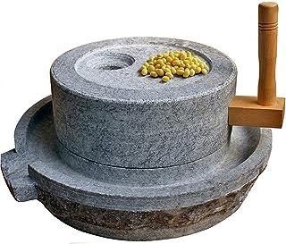 ワカモレ、ハーブ、スパイス、ニンニク、キッチン、調理、医学、丸薬、穀物、種子、果実、キッチンツール、11.8Wx15.7Lに使用さ製粉所、ナチュラル手作りグラインダー、