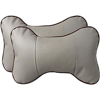 KING PIECES Car Seat Headrest Pad Pillow Neck Rest Support Foam Cushion