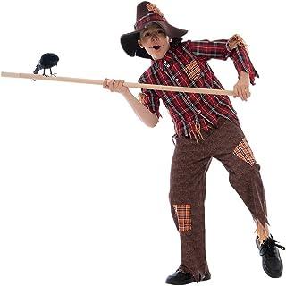 EraSpooky Halloween Boys Scarecrow Costume