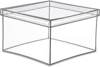 plexiglass square box