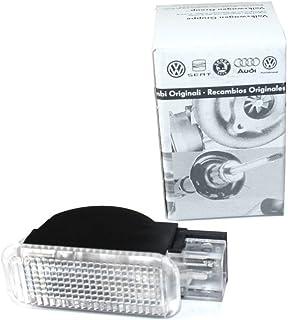 Original Audi Türwarnleuchte Reflektor Rückstrahler weiß beleuchtet 4B0947415A Seitenleuchte Türen
