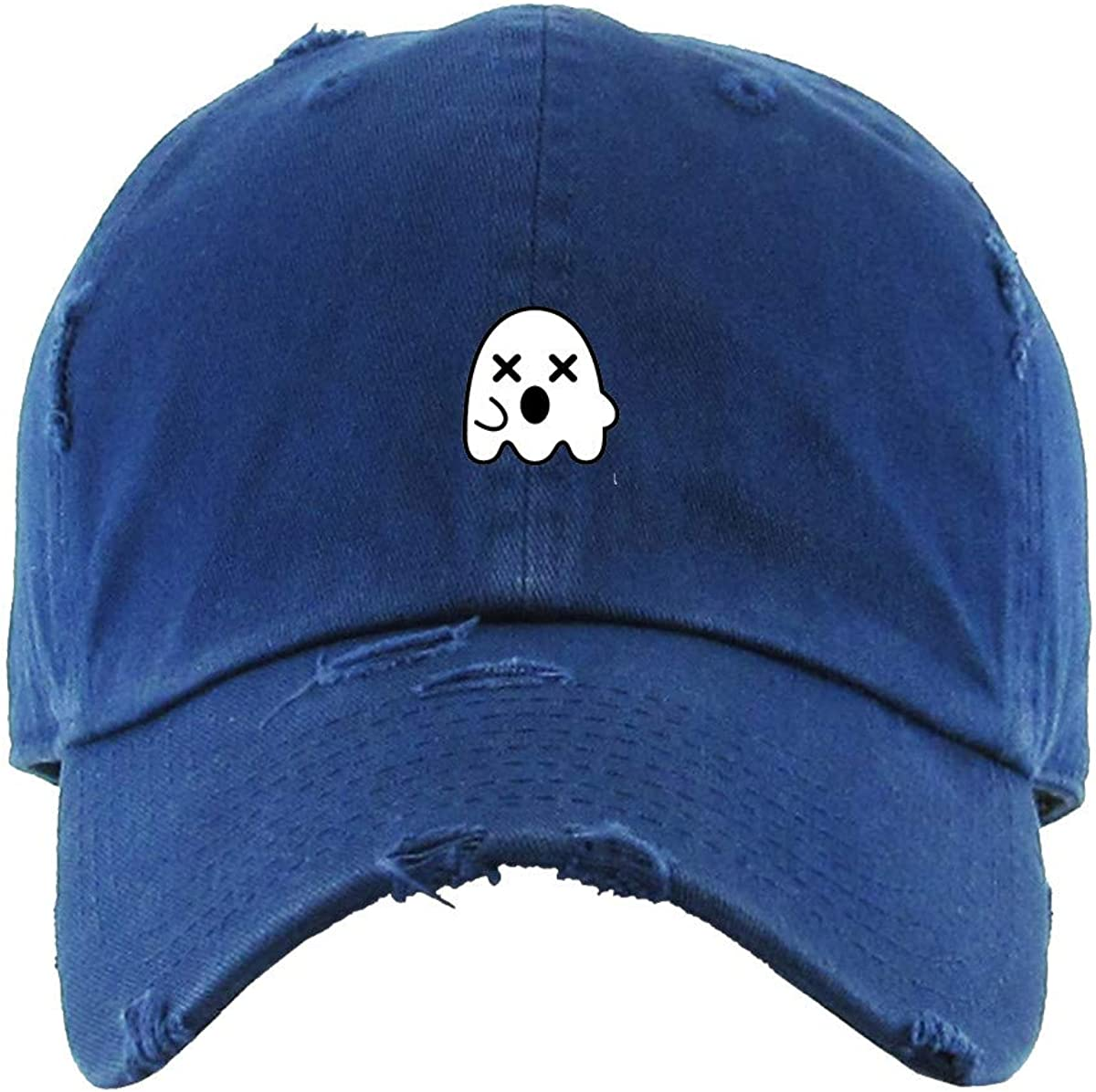 Dead Ghost Vintage Baseball Cap Cotton Embroidered Max 63% OFF Adjustable Di Product