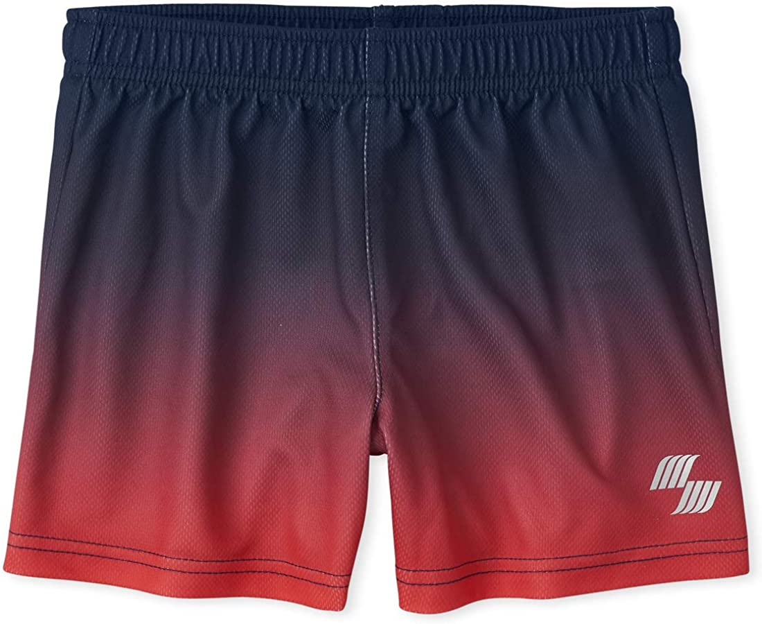 The Children's Place Baby Boys' Ombre Active Shorts
