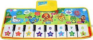 KAREZONINE Piano Mat, Kids Keyboard Mat Playmat Education To
