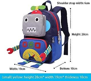Toddler Kids Rucksack Cartoon Backpack Robot for Boys/Girls Kindergarten Backpack for Nursery Children Backpacks Lightweight Daypack