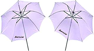 Sonia Professional White Umbrella 100cms 36 inch/91cm for Photography Studio Light Flash, Camera Flash, Video Light 2 Pcs Combo