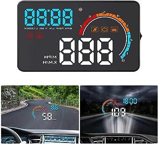 GOFORJUMP 3.5 Pantalla Auto Veh/ículo GPS HUD Car Head Up Display Veloc/ímetros Advertencia de Exceso de Velocidad Windshiled Projector Alarm System
