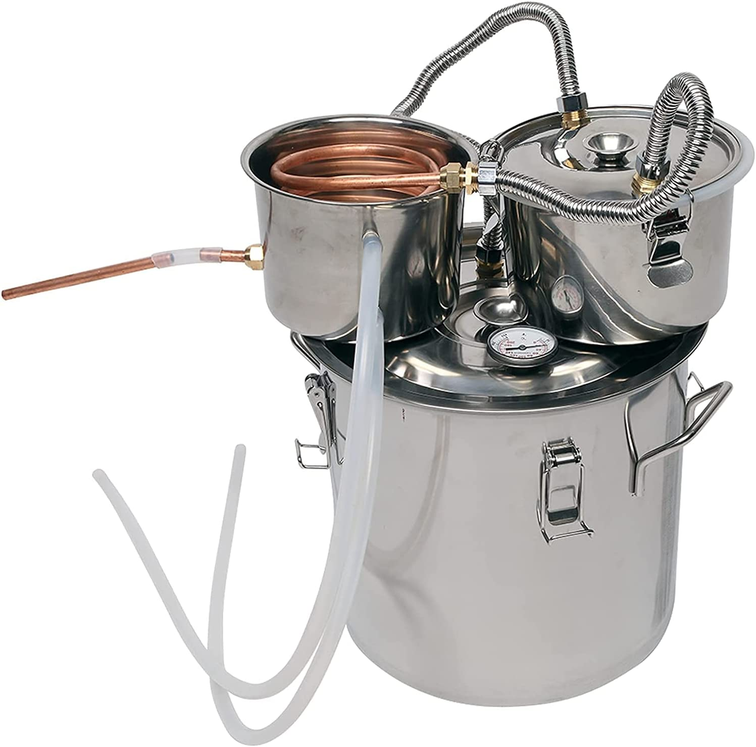 Zholuzl Removable Our shop OFFers the best service 5 Gallon Three 20L 100% quality warranty! Barrels Wat Multifunctional