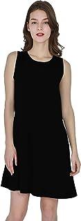 Vedicci Vestidos de Mujer Casuales con diseño cómodo, Fresco y Ligero. Vestido Casual Corto para Mujer Ideal para Verano. ...