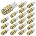 PESIC 20x T10 921 192 Wedge RV Trailer 42-SMD LED Interior Light Bulbs