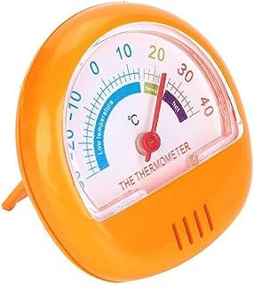 SALUTUY Thermomètre de congélateur, pointeur Facile à Lire très précis thermomètre de réfrigérateur à Grand Cadran Portabl...