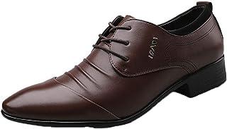 Zapatos Formales para Hombre, Zapatos de Vestir Informales para Oficina, Zapatos de Fiesta de Boda Transpirables para Homb...