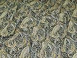 Liberty London Tana Baumwollstoff, Olivgrün, Meterware