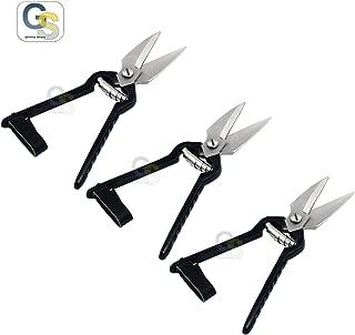 G.S Lot of 3 Pcs Foot Rot Shear Sheep Shears Hoof Trimming Scissors Sharp Blades Black Handle Hoof Snips Best Quality