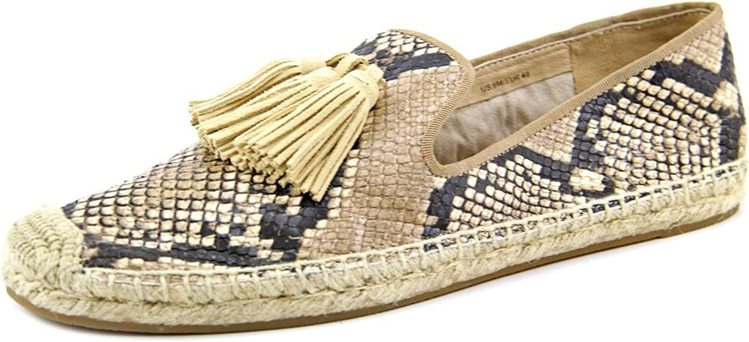Via Spiga Belisa Round Toe Leather Espadrille