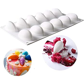 3D Cakes Mold Tray Baking Mousse Decor Tools Desserts Bakewa Silicone G8O3 P5Z3