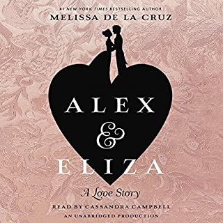 Alex and Eliza audiobook cover art
