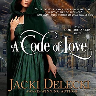 A Code of Love     The Code Breaker Series              By:                                                                                                                                 Jacki Delecki                               Narrated by:                                                                                                                                 Pearl Hewitt                      Length: 8 hrs and 12 mins     3 ratings     Overall 3.7