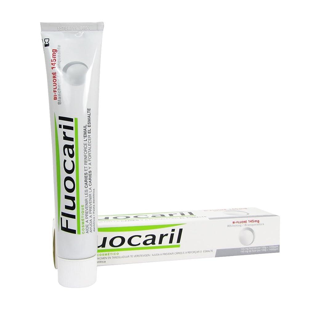 スプーンお嬢描写Fluocaril Bi-fluor 145mg Whitening Toothpaste 75ml [並行輸入品]