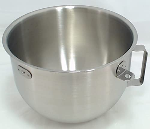 high quality KitchenAid new arrival 5-Quart online Stainless-Steel Commercial Mixing Bowl with Handle sale
