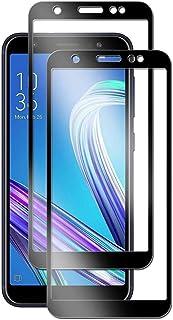【2020先端技術】ASUS ZenFone Max M1 (ZB555KL) ガラスフィルム 【2枚セット】ASUS ZenFone Max M1 (ZB555KL)強化ガラスフィルム 2.5D弧度ラウンドエッジ加工 最大硬度9H/高透過率/...
