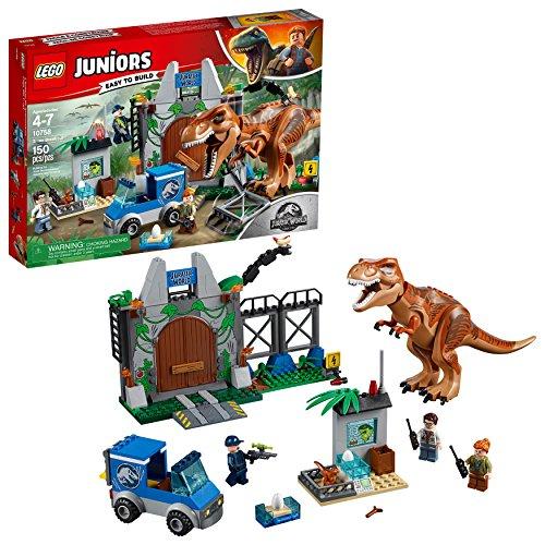 Lego Juniors Huida del Tyrannosaurus 10758(150piezas)