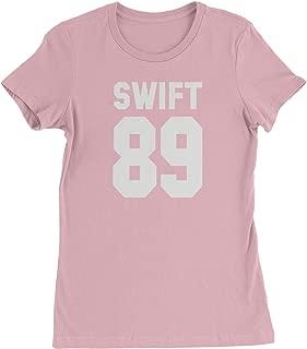 Expression Tees Swift 89 Birth Year Womens T-Shirt
