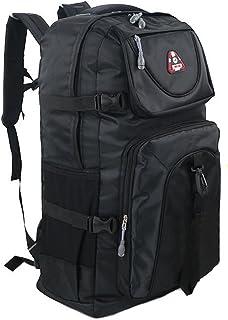 Rimocy 登山リュック 大容量 60L バックパック 防災グッズ アウトドア 防水 丈夫 バックパック バッグ