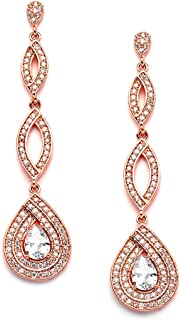 Best gold long earrings design with price Reviews