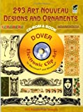 289 Art Noveau Designs and Ornaments (Dover Electronic Clip Art)