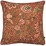 Prestigious Textiles Amortiguador de la Cubierta apsley, Rojizo, 55 x 55cm