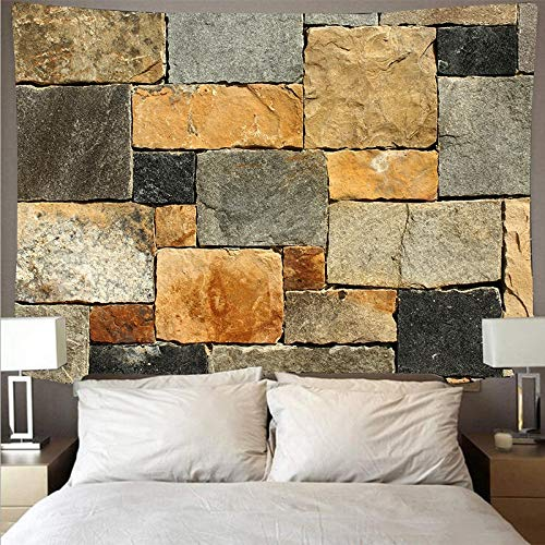 Wood texture tapestry log style stone background cloth hanging cloth home decoration wall hanging mural a14 73x95cm