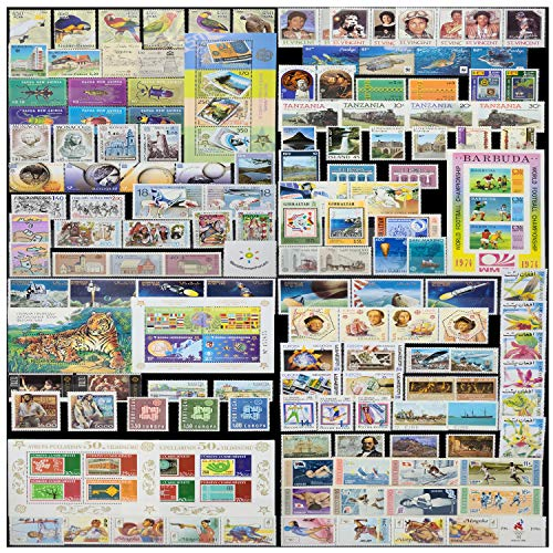 WorldStampsForLess Worldwide Stamp Collection Mint (MNH) (Edition 1-45 Full Sets from 35 Different Countries)