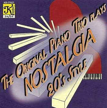 Original Piano Trio: Nostalgia 20's Style