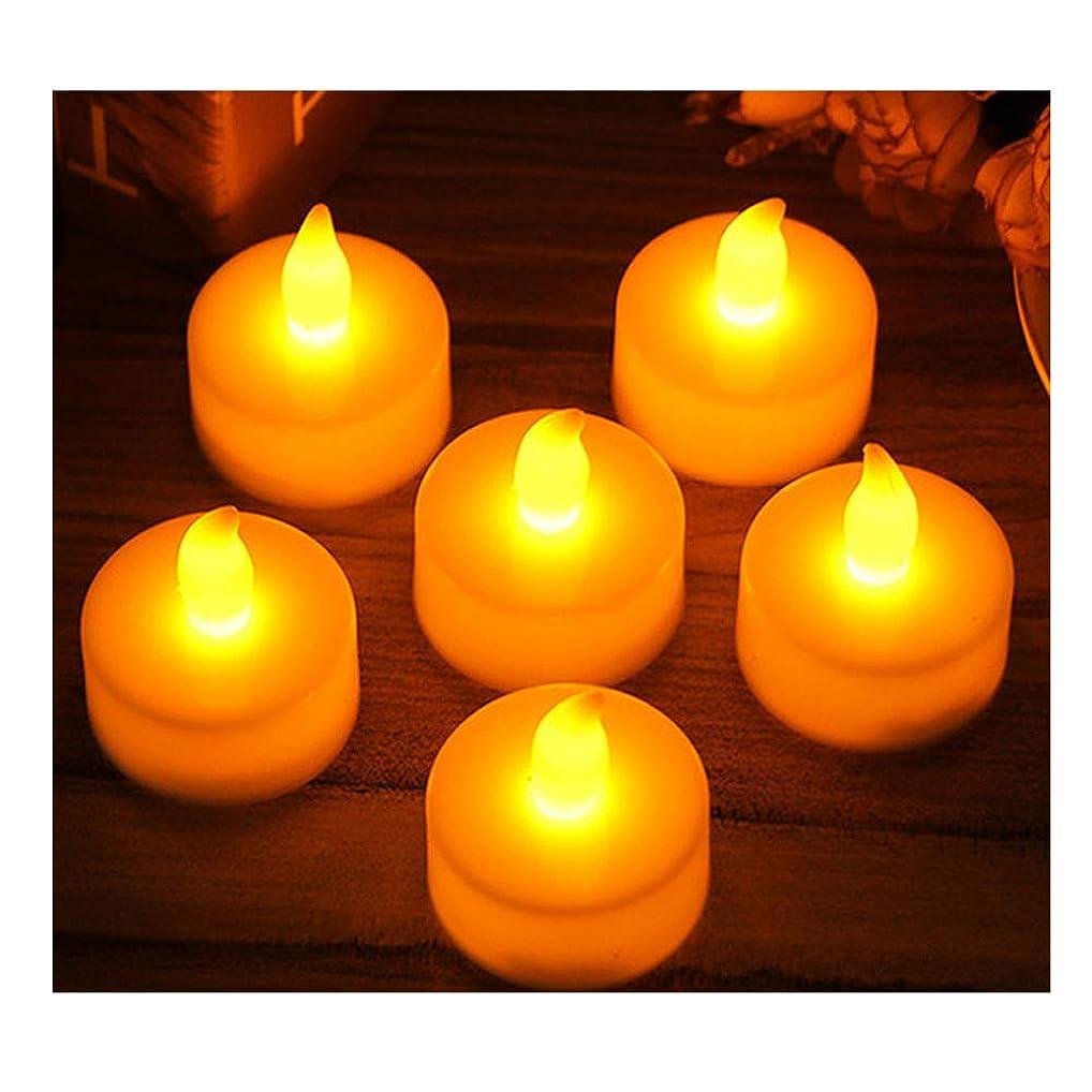 論争の的削除する膨らませるYINING キャンドル イルミネーション ライト LED 蝋燭 癒しの灯り 自然な灯り クリスマス/パーティー/結婚式/誕生日等の用品 点滅仕様 YELLOW