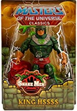 HeMan Masters of the Universe Classics Exclusive Action Figure King Hssss