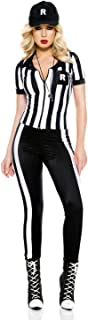 4 PC. Ladies Half Time Referee Costume Set