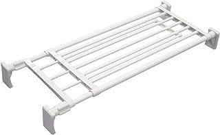 平安伸銅工業 つっぱり棚 超強力ワイドタイプ ホワイト 取付寸法75~120cm 耐荷重:60-40kg RA-11