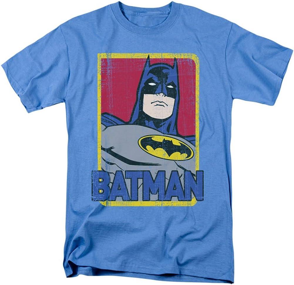 Batman - Primario adulto Camiseta En Azul Carolina, XXX ...