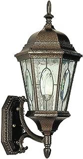 Trans Globe Lighting 4715 BK Outdoor Villa Nueva 21