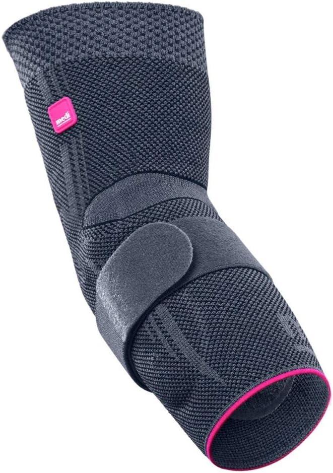 Medi Epicomed Elbow Support w Quantity limited Accu Pressure Silv Silicone San Jose Mall Insert