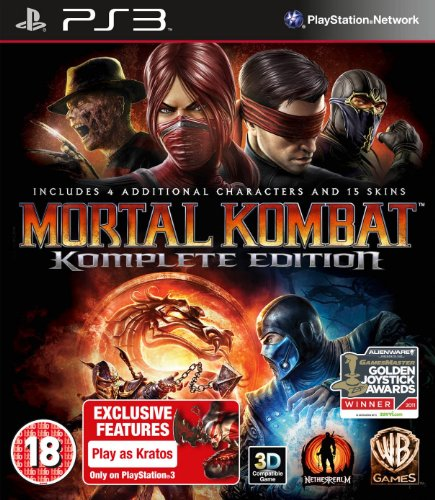Mortal Kombat: Komplete Edition - Importado