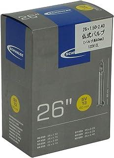 SCHWALBE(シュワルベ) 【正規品】26×1.50/2.50用チューブ 仏式 60㎜ロングバルブ 13SV-E.L
